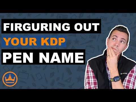 How to Create a Pen Name in Kindle Direct Publishing (KDP)