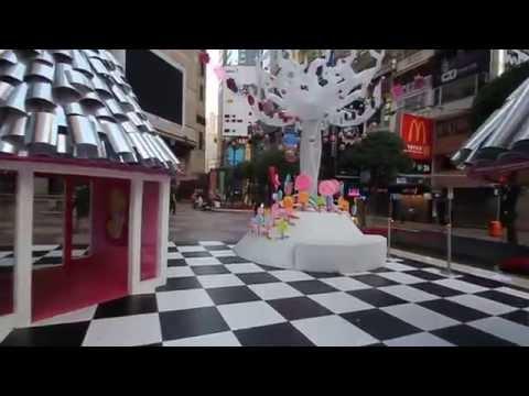 Morning Walk in Time Square, Hong Kong.MOV