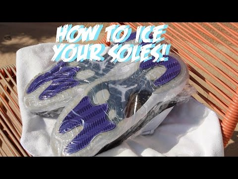 How To: Ice your soles!!