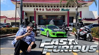 WE TOUR FAST & FURIOUS LOCATIONS WITH