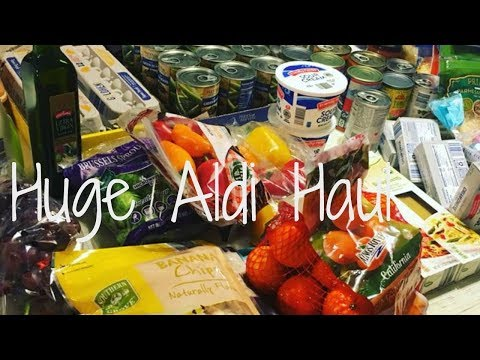 Aldi Haul Food  For The Entire Month Of March