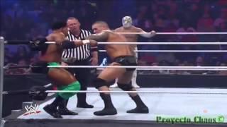 Sin Cara, R  Mysterio & R  Orton VS Alberto del Río & Prime Time Players
