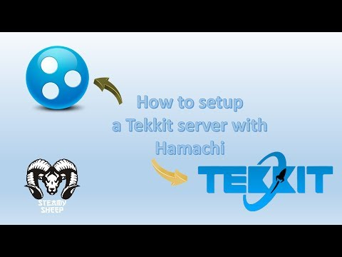 How To Setup A Tekkit Server Using Hamachi  (Windows 7 & 8)