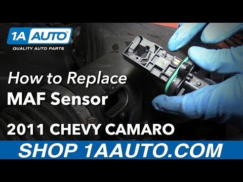 How to Install Replace MAF Sensor 2011 Chevy Camaro
