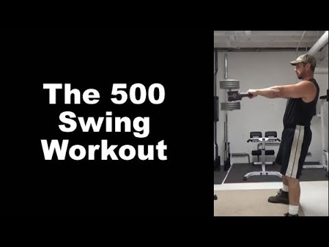 500 Swing Kettlebell Workout for Power-Endurance and Metabolic Conditioning