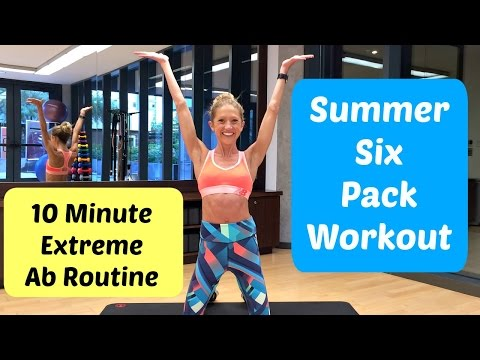 How To Get A Summer Six Pack! Fast, Effective Ab Exercise Routine That Works.