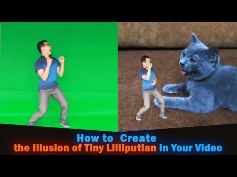 Xxx Mp4 How To Make People Small Create The Illusion Of Tiny Lilliputian In Your Video 3gp Sex