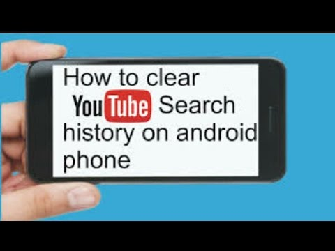 how to clear youtube search history on android phone -tamiluser