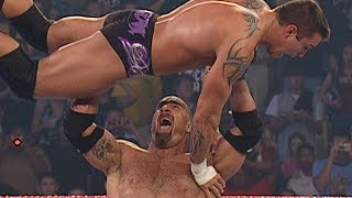 Goldberg, Shawn Michaels & Maven vs. Evolution: Raw, Sept. 1, 2003