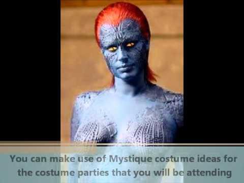 Mystique Costume Ideas.wmv