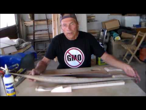 DIY Florida Dulcimer making the Sound Chamber