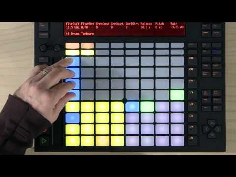 Ableton Push Tutorial: How to make beats