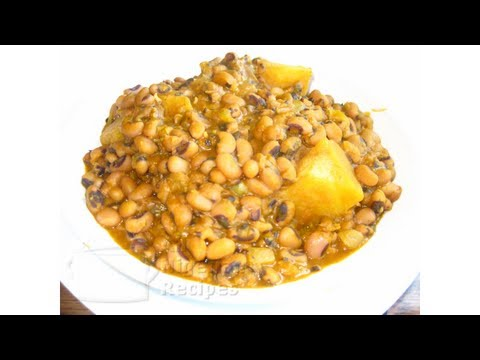 Nigerian Beans Porridge (with Yam)   All Nigerian Recipes