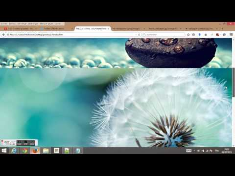[HTML] tutorial #4 multiple images parallax effect