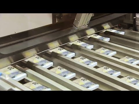 Amazing Money Print Technology - 20 Euro Note Print Process