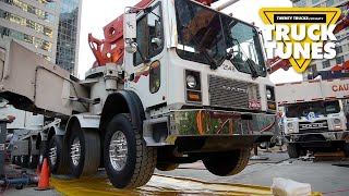 Kids Truck Video - Concrete Boom Pump