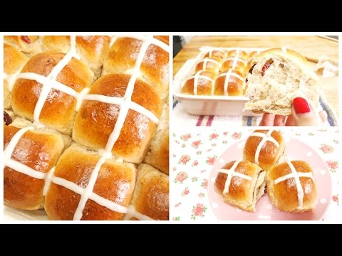 Soft Sweet Bread Recipe Hot Cross Bun
