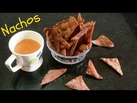 Ragi Nachos ll  Nacho Chips ll Loaded Nachos Recipe  ll Desi Nachos  ll  Veggie Nachos