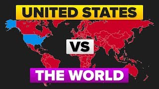 The United States (USA) vs The World - Who Would Win? Military / Army Comparison