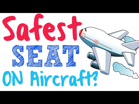 What is the safest spot on a plane? Safest seat on an aircraft?