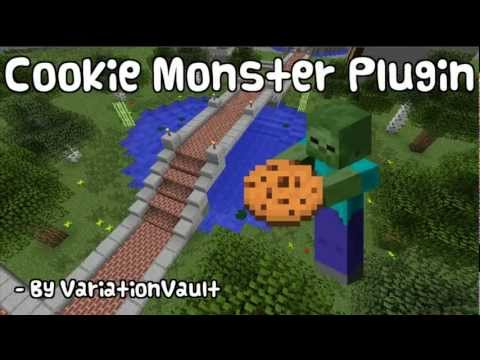 Minecraft Bukkit Plugin - Cookiemonster - Get money rewards for killing mobs / monsters !