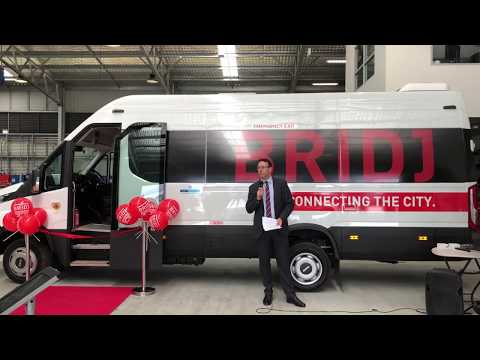 Transit Systems & Bridj launching