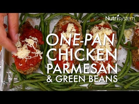 One-Pan Chicken Parmesan & Green Beans