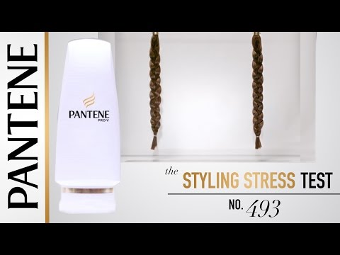 Styling Stress Test | Virtually Unbreakable Hair with Pantene