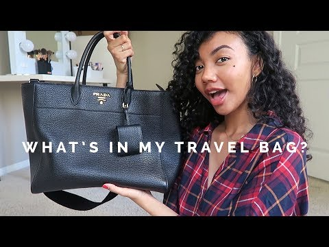 WHAT'S IN MY TRAVEL BAG 2018 ✈️