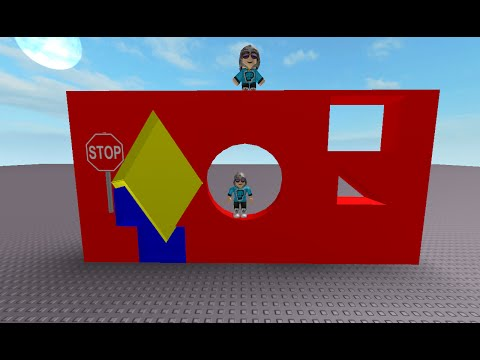 Roblox Studio - How To Make Hole In a Wall