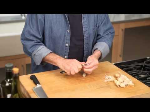 Jacques Pépin: How to Chop Garlic