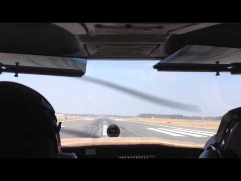 Takeoff from Salisbury MD