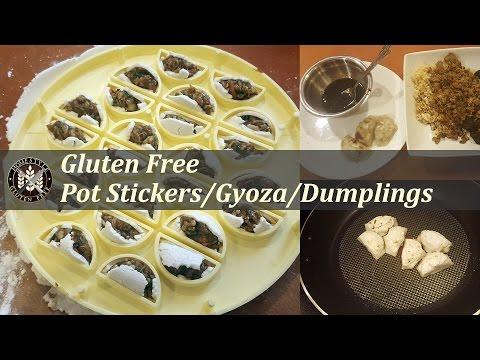 Gluten Free Pot Stickers/Gyoza/Dumplings   HomeStyle Gluten Free
