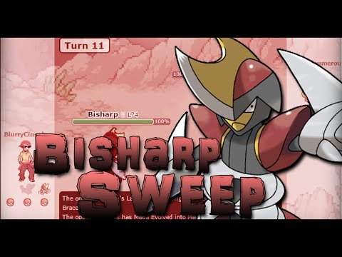 Pokemon Showdown: MLG Bisharp Sweep