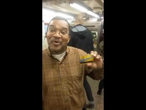 KEVIN GETS FREE 7 DAY METROCARD!