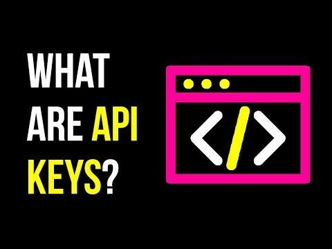 What are API Keys?   Using API Keys