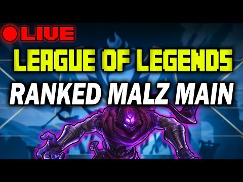 RANKED SOLO Q - MALZ & ASOL MAIN | PLAT TO DIAMOND | LEAGUE OF LEGENDS PATCH 8.10