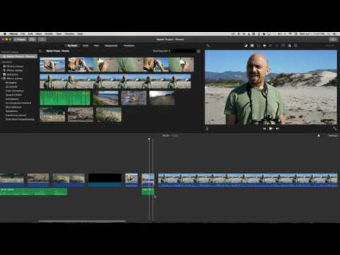 L-Cuts in iMovie