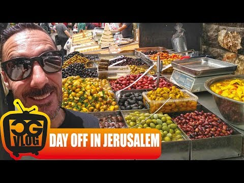 EPIC HUMMUS IN JERUSALEM - CG VLOG #319