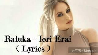 Download Raluka - Ieri Erai  ( Lyrics )