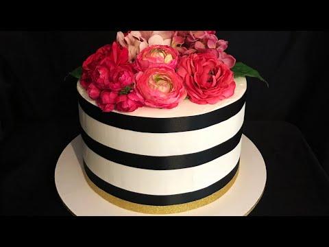 Pastel hermoso para cumpleaños (o cualquier ocasión)