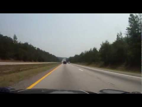 Driving Asheville NC to Charleston SC via I-26 in 5 min