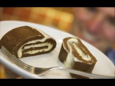 Coffee & Baileys Freezer Cake: Bitter layers with Irish cream filling