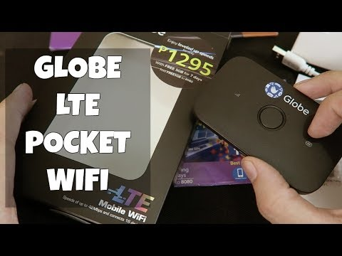 Globe LTE Pocket WIFI for just P1295 Unboxing