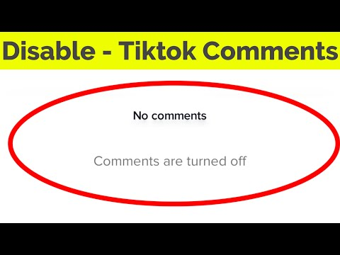 How To Disable/Enable Comments On Tik Tok Videos & Stop All Notifications-2019