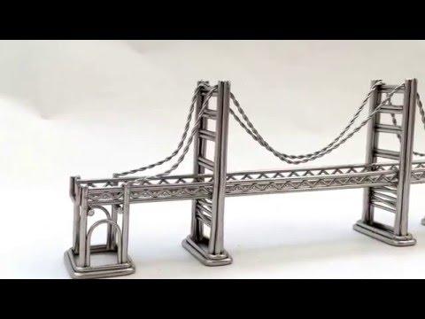 Mimi Golden Gate Bridge Replica