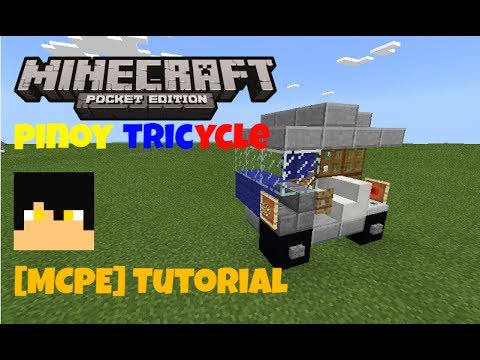 Tricycle{Tutorial}[MinecraftPE]