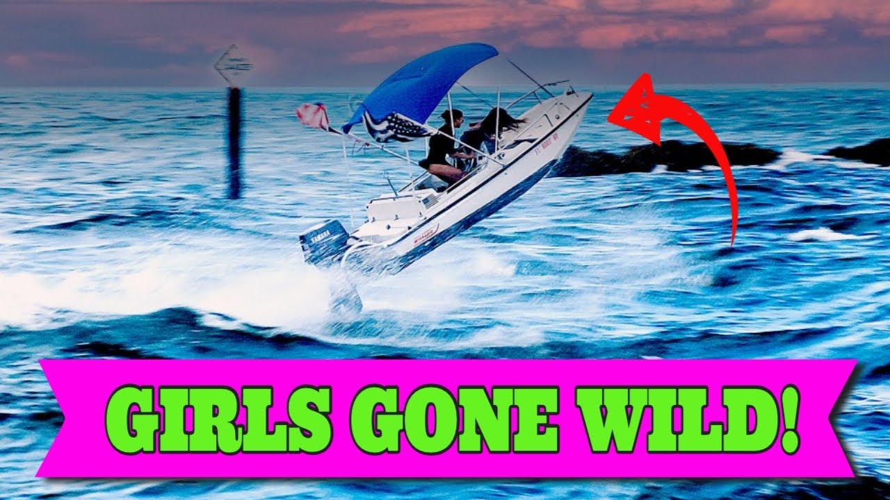 SHE RISK IT ALL   BOCA INLET   BOATS VS WAVES