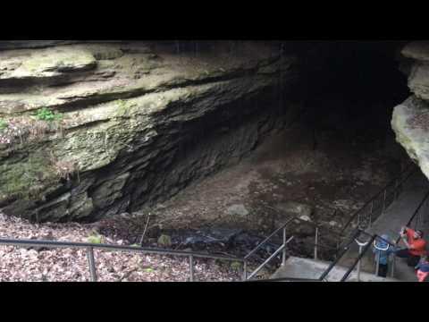 Inside Mammoth Cave!