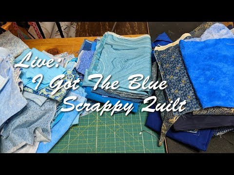 I Got The Blue Scrappy Quilt
